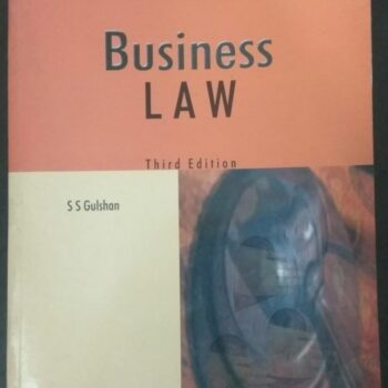 Business Law Book Third Edition for Sale