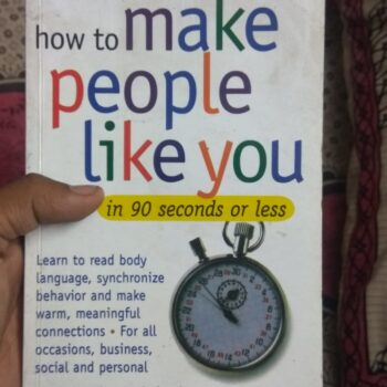 How to Make People Like You by Nicholas Boothman