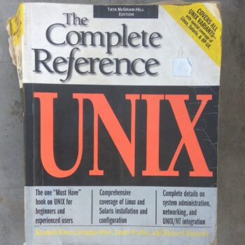 UNIX:The Complete Reference Book for Sale