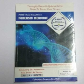 MCQs in Forensic Medicine Explanatory Answers Book with NEET Pattern