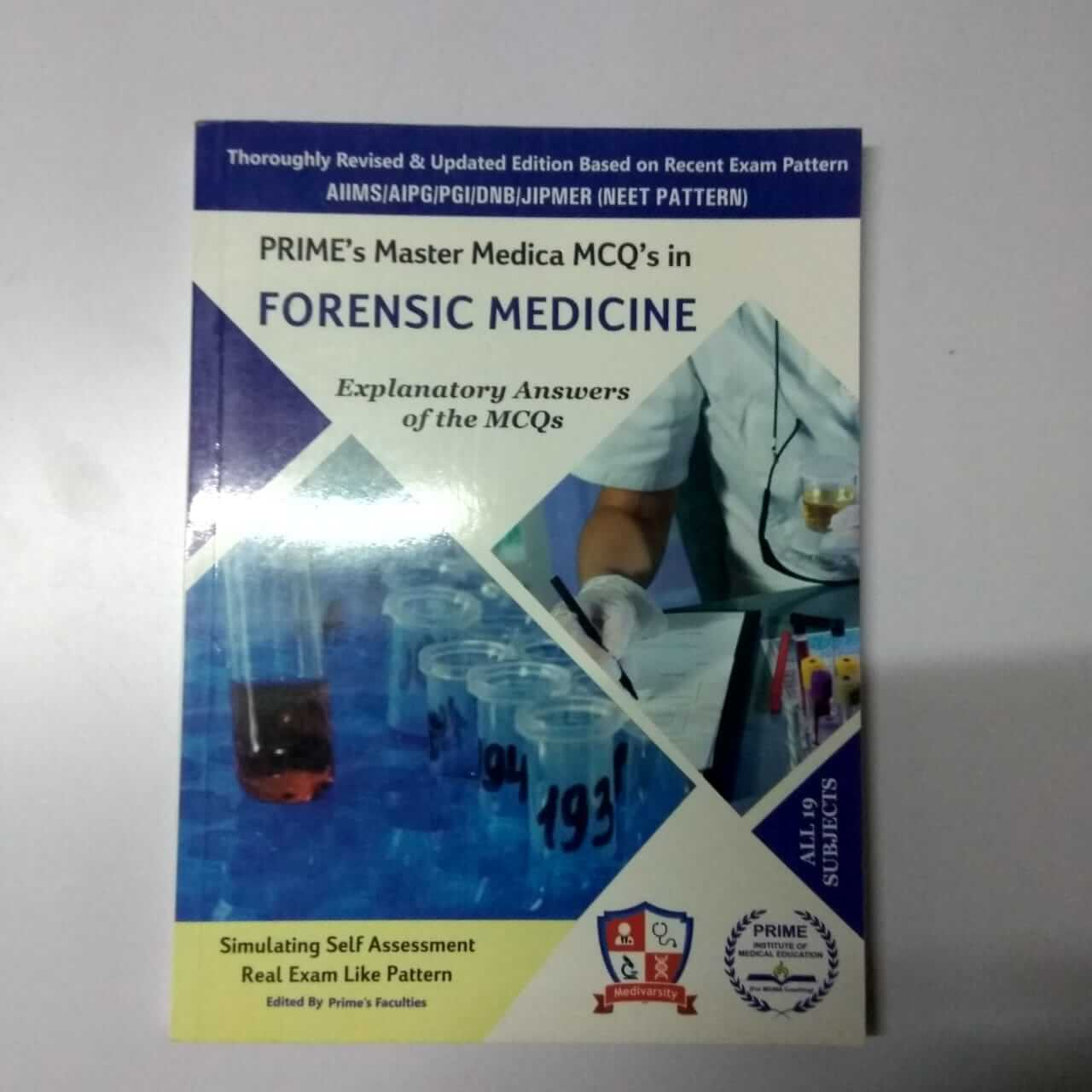 Prime Master Medical Mcq In Forensic Medicine Practice Book For Medical Students For Sale Pikmybook