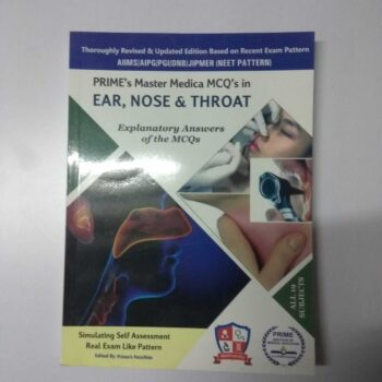 MCQ in ENT (Ear, Nose, Throat) Practice Book for Medical Students