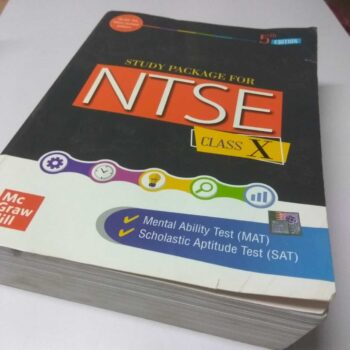 Study Package for NTSE Class X 5th Edition | New Guidebook for Students of NTSE Examination