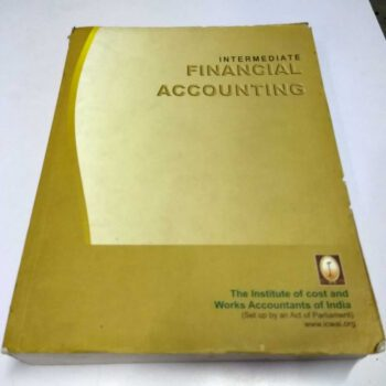 Intermediate Financial Accounting-Paper 5 by ICWAI