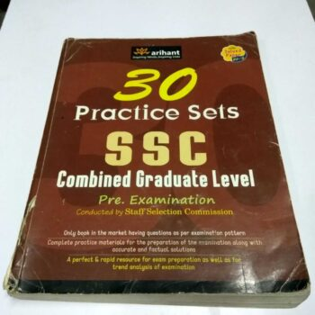 30 SSC Practice Sets-Combined Graduate Level with 2013 Solved Papers