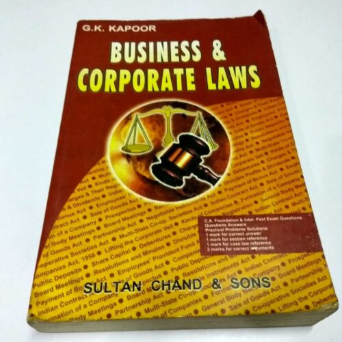 Business & Corporate Laws Book