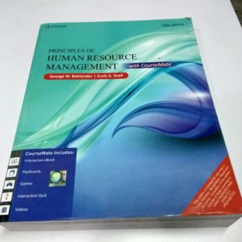 Principles of Human Resource Management 16th Edition New Like Book
