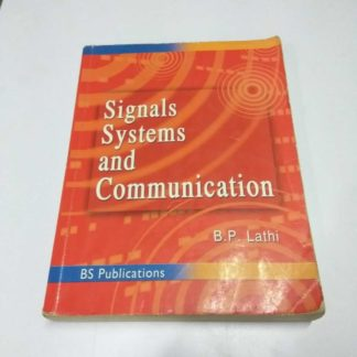 Signals Systems and Communication Book