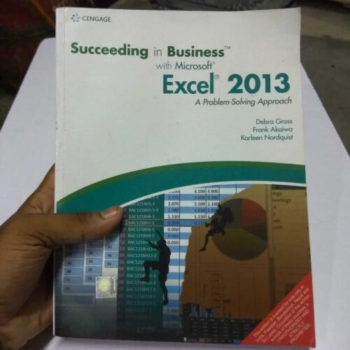 Succeeding in Business with Microsoft EXCEL 2013 Book