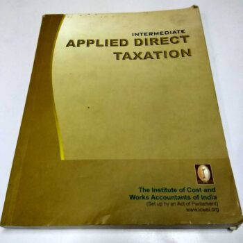 Intermediate Applied Direct Taxation Book-Paper 7