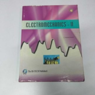 Electromechanics-2 by S. Kamakshaiah, Old Books, Used Books