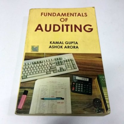 Fundamentals of AUDITING by Kamal Gupta, Ashok Arora, Old Books, Used Books, Secondhand Books