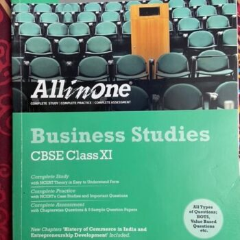 Set of 3 CBSE Books – All in One Business Studies CBSE Class 11th, Accountancy Textbook and Accountancy Company Accounts and Analysis of Financial Statements for Class 12th