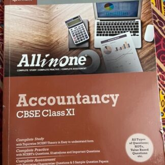 All in One Accountancy CBSE Class XI