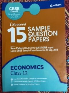 Set of 3 CBSE Books – Indian Economic Development, All in One Economics CBSE Class XI & 15 Sample Question Papers Economics Class 12